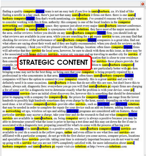 Strategic Content Is King On The Web