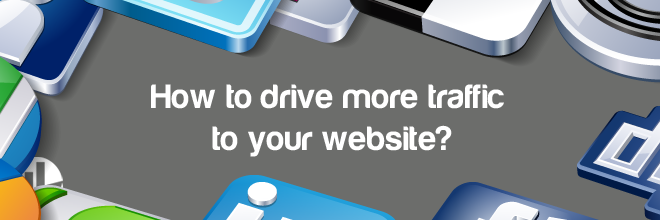 dive more traffic to your website