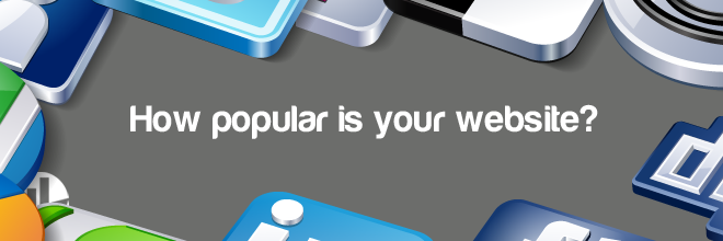 how popular is your website
