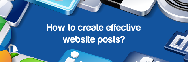 Creating Website Posts