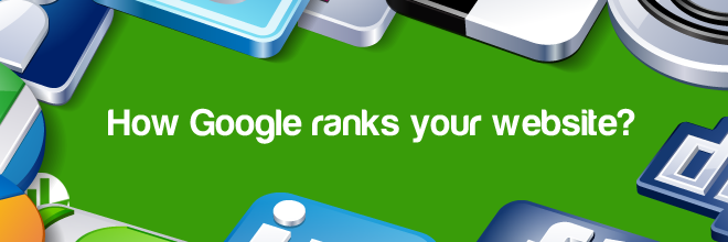 How Google ranks your website