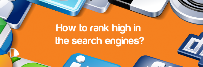 rank high in the search engines