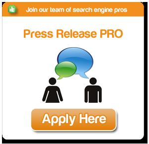 We're hiring Press Release PR PROS