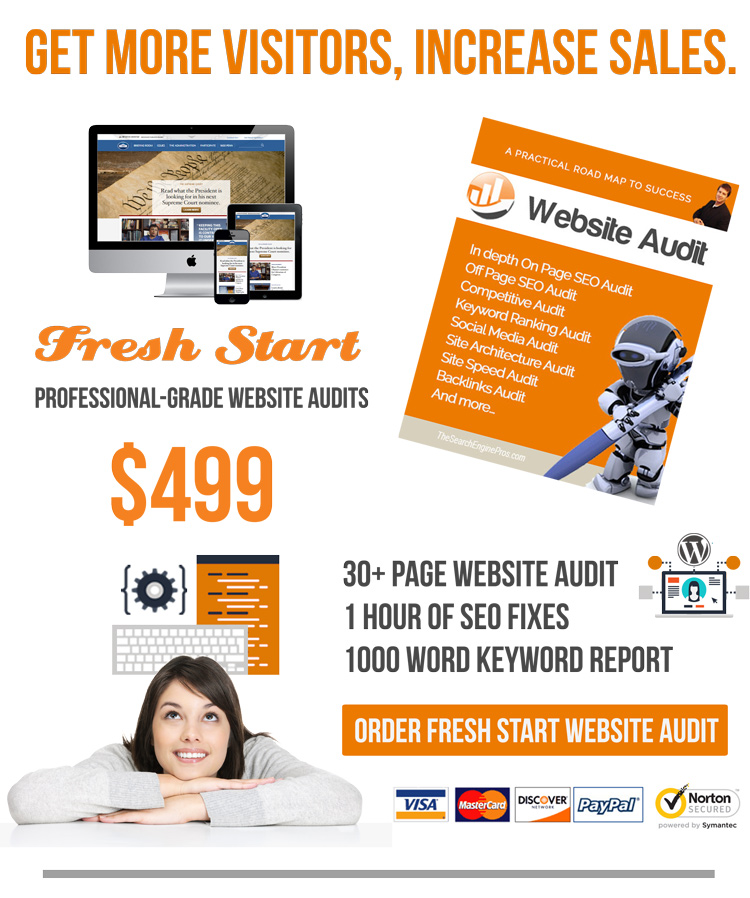 Fresh Start SEO Website Audit