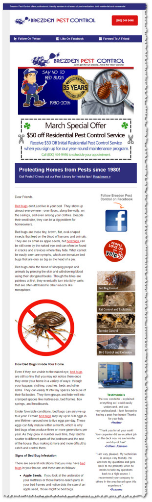 Pest Control Marketing Case Study