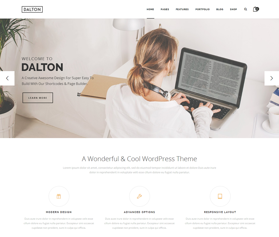 WordPress Themes for Restaurants